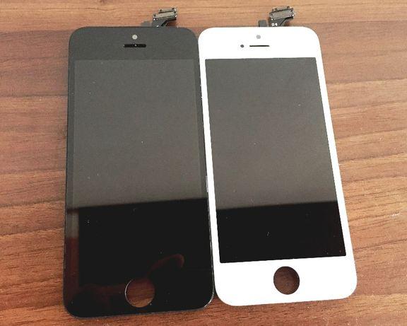 OEM Дисплей Тъч Стъкло iPhone 5 5G Айфон Display Черен Бял ОЕМ