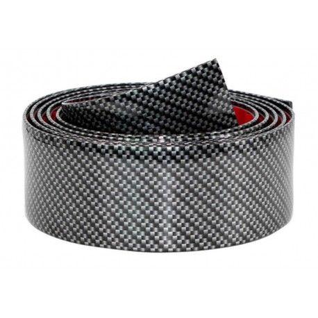Banda Protectie Design Pentru Usa, Prag, Bara/Interior Fibra de Carbon