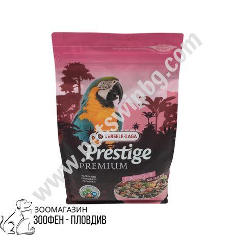 Premium Parrot 2кг - Пълноценна храна за големи папагали