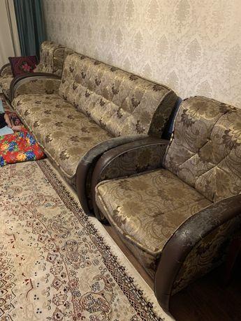 Диван с креслами (раскладные)