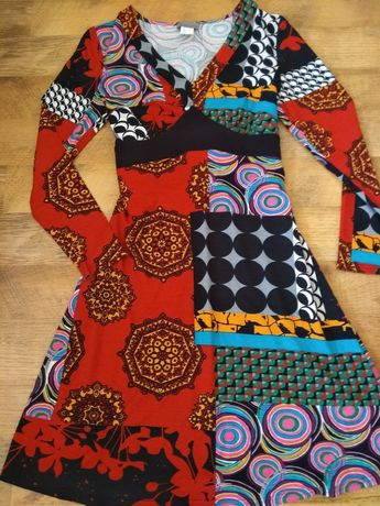 Нова дамска рокля/100% вискоза