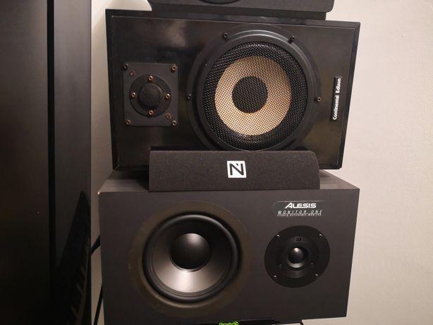 Monitoare studio, Alesis monitor one mk1 și Continental Edison
