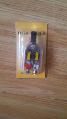 Convertor/adaptor/mufa semnal high-low amplificator statie subwoofer