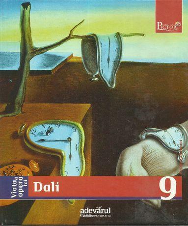 Super carte album de arta Salvador DALI, arta suprarealista