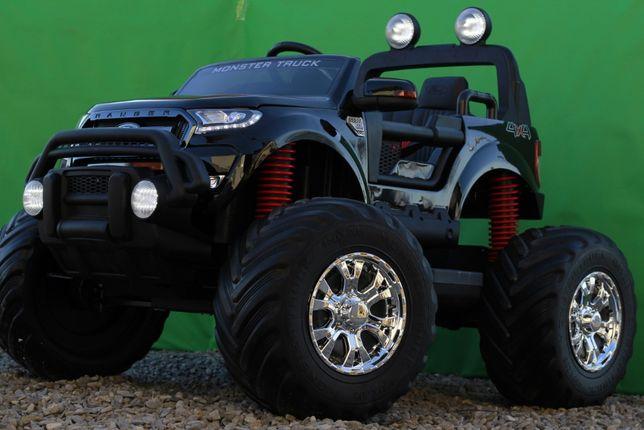 Masinuta electrică pentru 2 copii Ford Monster TRUCK 4x4 24V 7Ah