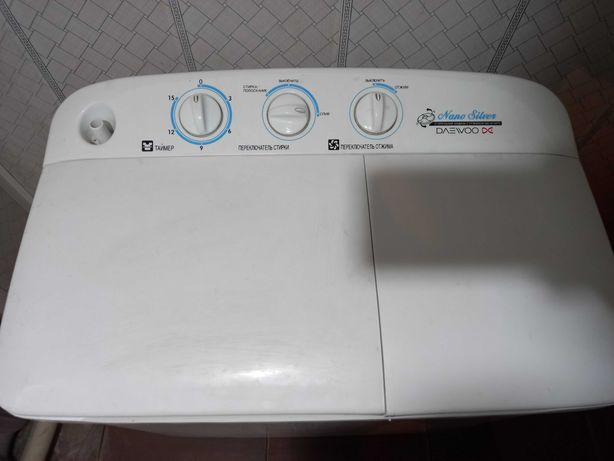 Продается стиральная машина полуавтомат