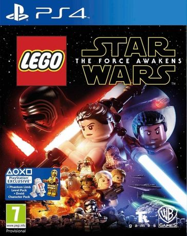 LEGO Star Wars The Force Awakens / PS4 / Игра / Нова / Playstation4 /