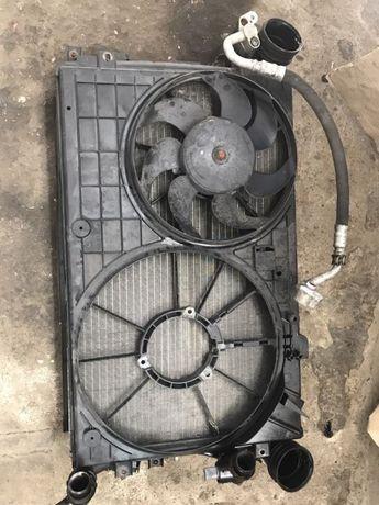 Ansamblu radiatoare+ suport ventilatoare Audi A3 1.9 2.0 TDI 2005-2010