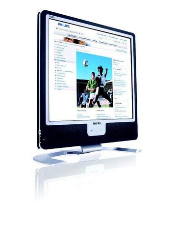 "LCD Monitor Philips 170x6 USB, boxe incorporate, NOU 43cm (17"")"