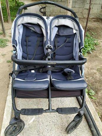Бебешка количка за близнаци Peg Perego Book for two