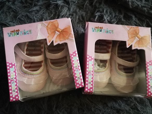 Бебешки обувки дължина на стелката 11-12 см