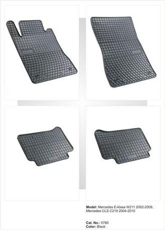 Гумени стелки FROGUM за мерцедес Е-CLASS W211 и W212