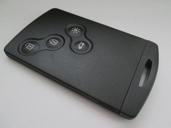 Кутийка за ключ-карта Renault с 4 бутона (без лепене)!