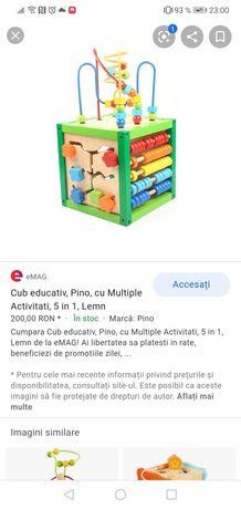 Cub lemn activitatati