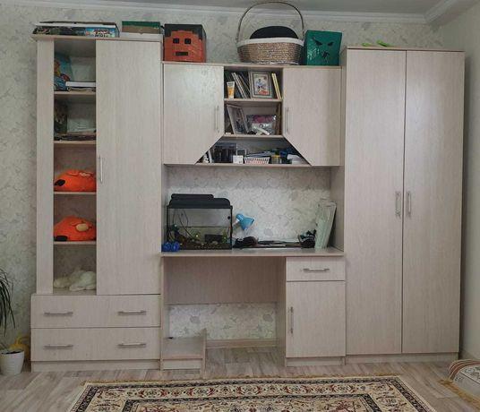 Детский шкаф с кроватью