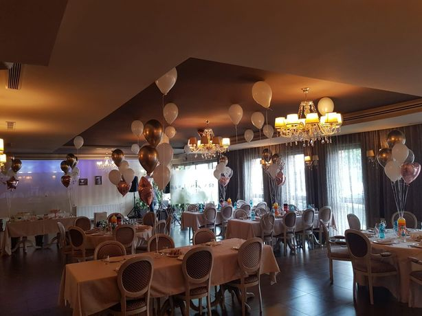 Aranjamente baloane heliu nunta,botez,zi de nastere Arcade baloane,Pan