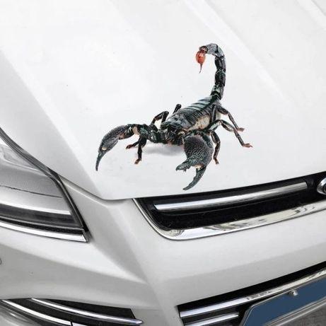 "Стикер за кола 3d - водоустойчив с лепенка ""3м"""