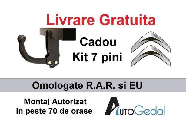 Carlig Remorcare Citroen C-Crosser Livrare Gratuita - Omologat RAR