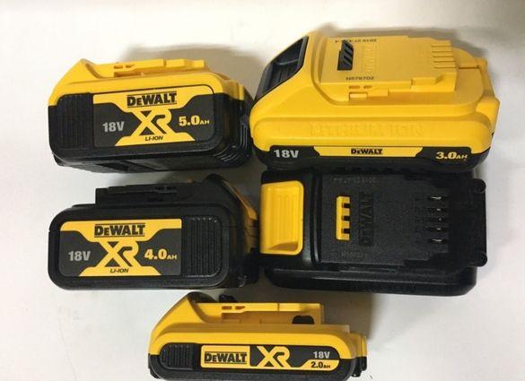 Батерии и Зарядни устройства DeWALT
