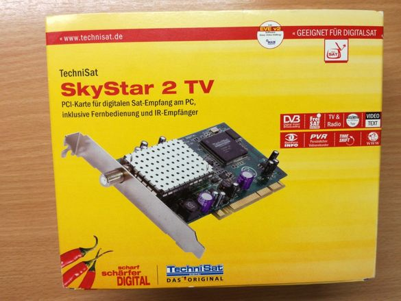 SkyStar 2 TV Сателитен PCI Тунер