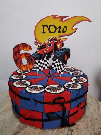 Картонена торта за детско парти