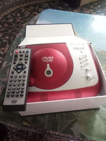 DVD-Player portabil PDVD-609GT made in CHINA.