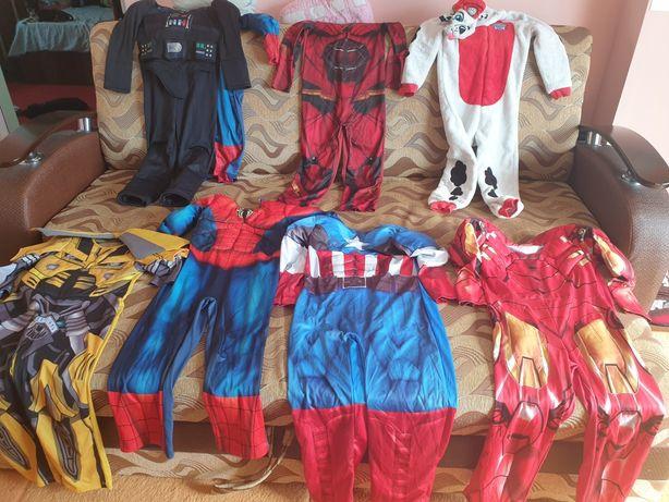 Costum Spiderman,Bumblebeet, Capitán América,Star Wars, Iron Man 6-8 A