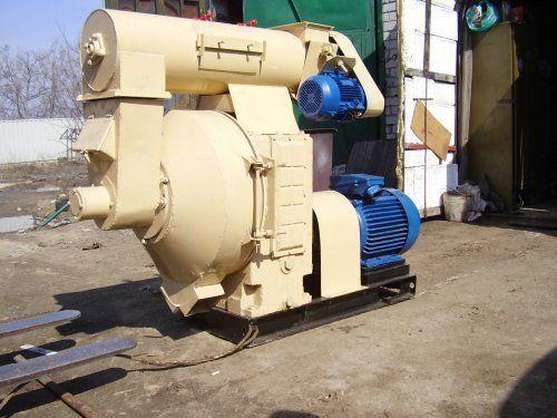 Пелет-преса ОГМ - 1,5 с капацитет до 1.2 - 1.5 т/ч. Мощност 75 - 90 кВ