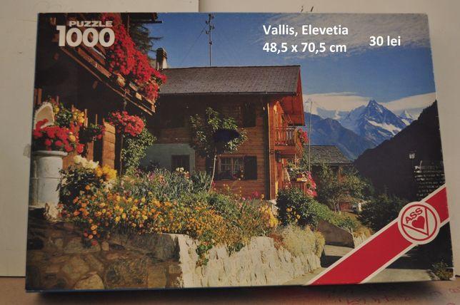 Puzzle 500, 1000, 1500 piese Ravensburg, Clementoni, Educa