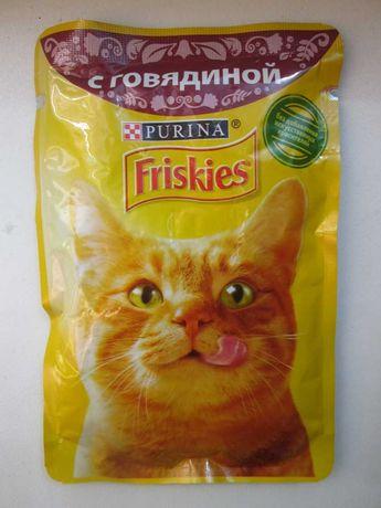 Кошачий корм продам