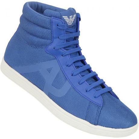 Armani Jeans - високи спортни обувки