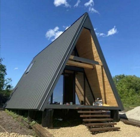 Realizam.casa din lemn, o cabana, un foișor sau o casuta accept auto