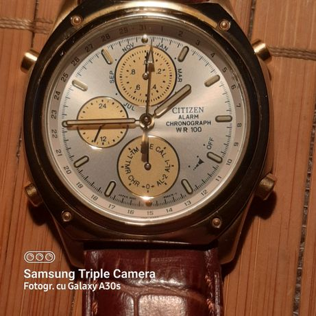 Ceas Citizen Alarm Chronograph WR 100 made in Japan