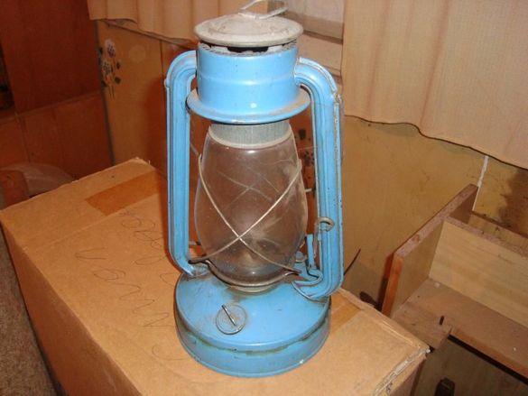 Стар фенер на газ, антика
