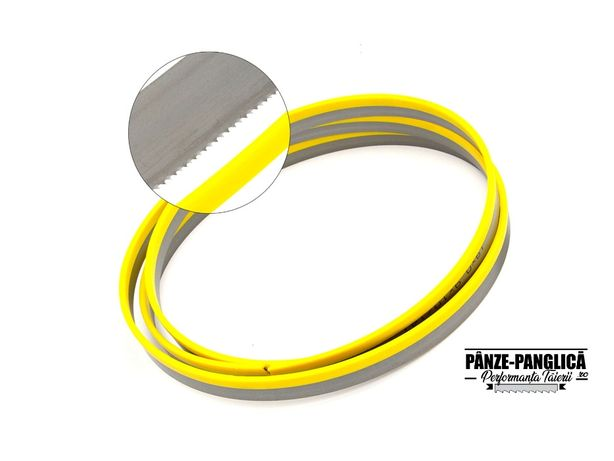 Panza panglica banzic metal 1735x13x8/12, fierastrau Optimum S150G