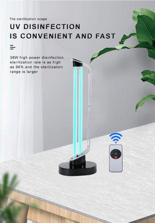 Кварцевая Бактерицидная лампа с датчиком движения 38W Доставка по РК
