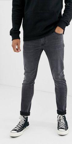 Blugi/Jeans Lee Malone Negri/Dark Wash W32L32