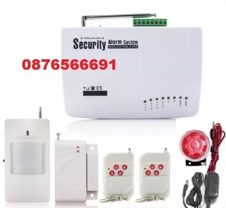 Wireless security alarm systems Охранителна GSM SIM СОТ система