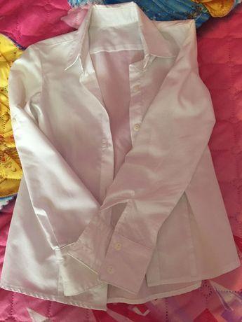 Детска бяла официална риза