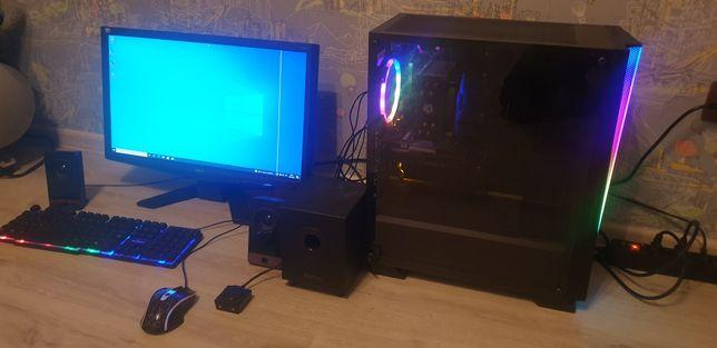 Мощный игровой пк core i3 9100F