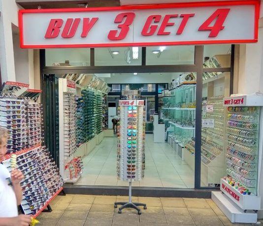 Оборудване за магазин за очила и часовници