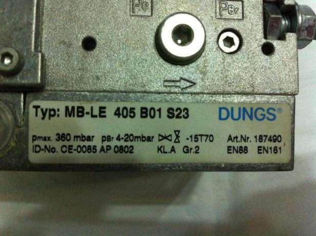 Vana de gaz Multibloc MB-LE 405 B01 S23