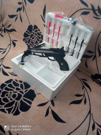 Pistol SCORPIO Mini Harpon arbaleta de PESCUIT+ Airsoft MULTIFUNC 3in1