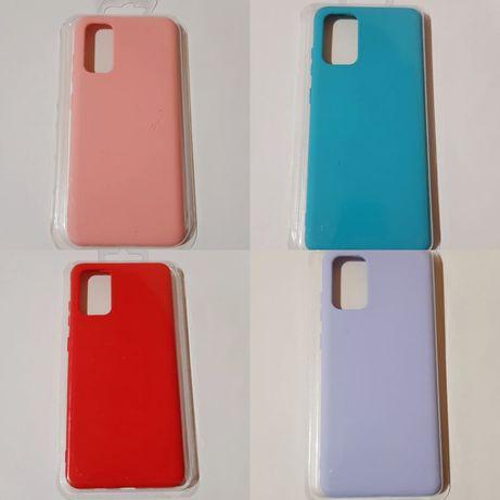 Husa silicon si catifea Samsung A21, A21s, A41, A51, A71