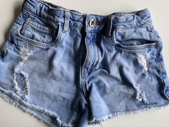 Къси дънкови панталони Zara за момиче