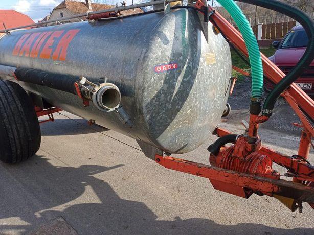 Vidanja 5100litri dupa tractor