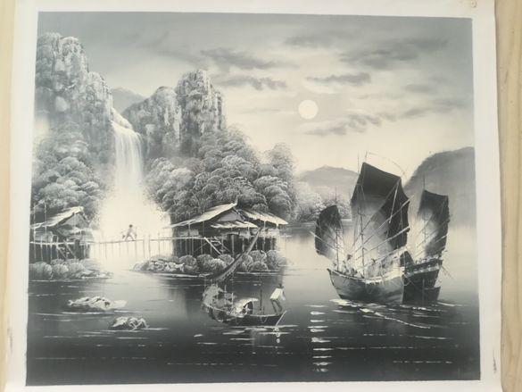 Картини внос от Хонг Конг - маслени бои