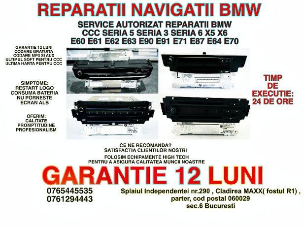 Repar navigatii BMW : ccc cic nbt ask