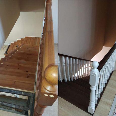 Изготовление лестниц, реставрация лестниц