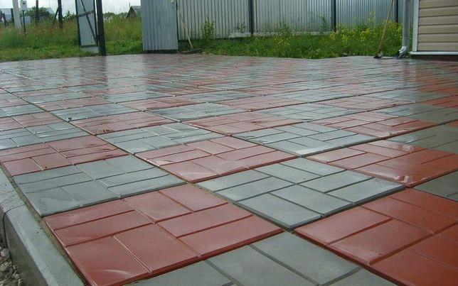 Тротуарные плитки брусчатки в Атырау